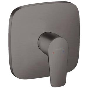 Hansgrohe Talis E Douchethermostaat Afbouwdeel Brushed Black Chroom