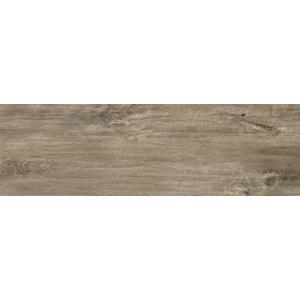Vloertegel Dom Ceramiche Logwood 16,4x99,8x- cm Grey 0,98M2
