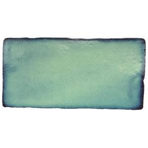 Wandtegel Terre d'Azur Lugo 7,5x15 cm verde 0,5 M2