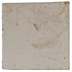 Vloertegel Terre d'Azur Tierra 10x10x1 cm Wit 1ST