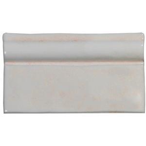 Listello Terre d'Azur Azahar 7,5x13x1,5 cm Hueso 1ST