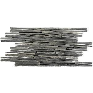 Vloertegel Terre d'Azur Bricks 20x40x1 cm Grijs 1M2