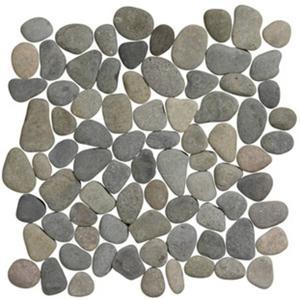 Vloertegel Terre d'Azur Stone 30x30x1,2 cm Grijs/Antracite 1M2