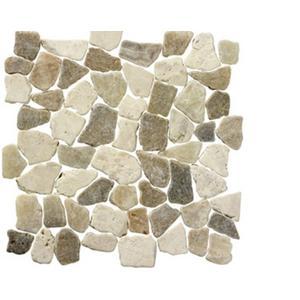 Vloertegel Terre d'Azur Stone Palladiana 30x30x1,2 cm Suntraw 1M2