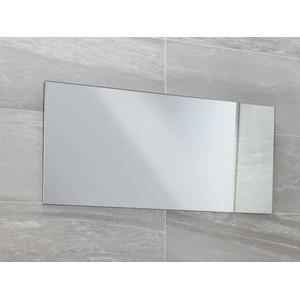 Spiegel rechthoekig 90x40cm.