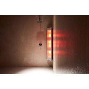 Sunshower Combi opbouw zonlicht en infrarood wit