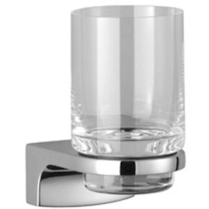 Villeroy & Boch Cult glashouder met glas Chroom