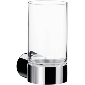 Emco Fino glashouder m/glas Chroom