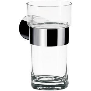 Emco Fino glashouder met kristal glas Chroom