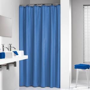 Sealskin Douchegordijn Textiel Madeira 200 x 120cm Blauw