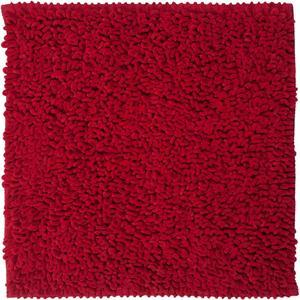 Sealskin Twist Bidetmat 60x60 cm rood