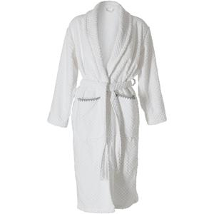 Tweedekans Sealskin Porto badjas maat S dames wit 00412