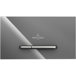 Villeroy & Boch ViConnect bedieningspaneel glas glossy grey