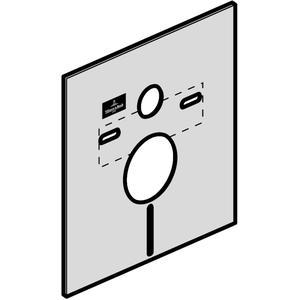Villeroy & Boch Joyce geluidsisolatieset met uitsparing voor suprafix