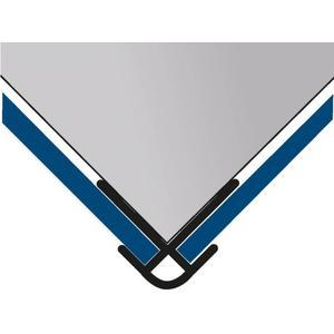HSK RenoDeco hoekprofiel uitwendig mat zwart