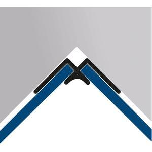 HSK RenoDeco hoekprofiel binnen mat zilver