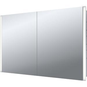 Emco asis select LED-lichtspiegelkast,inbouw 1000mm,2 deur