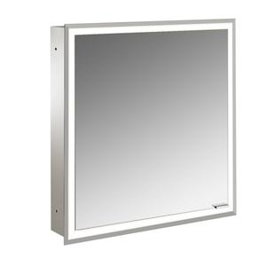 Emco Asis Prime inbouw spiegelkast met led verlichting 63x73 cm