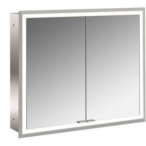 Emco Asis Prime inbouwspiegelkast 830x730 mm met LED