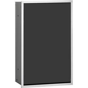 Emco Afvalbox Inbouw, Alum./Zwart