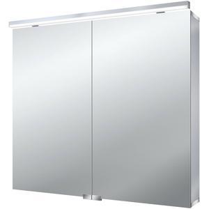 Emco LED Spiegelkast Flat 1 deur opbouw 80x70 cm