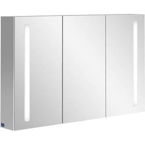 Villeroy & Boch My View 14 spiegelkast 120cm.3x deur m/led m/vergrootspiegel