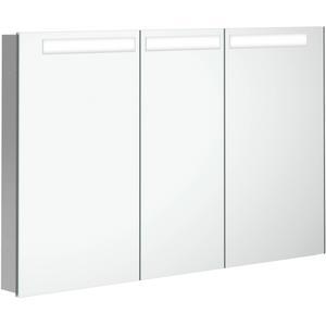 Villeroy & Boch My View In inbouw spiegelkast 120cm 3xdeur+led+vergr.spiegel