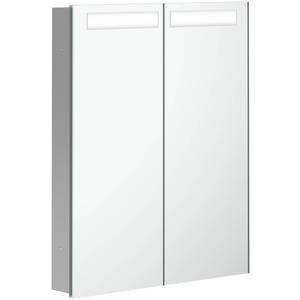 Villeroy & Boch My View In inbouw spiegelkast 60 cm 2xdeur+led+vergr.spiegel