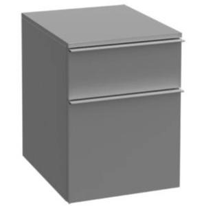Villeroy & Boch Venticello Aanbouwkast Laag 40,4x47,7x52,9 cm Glossy Grey