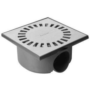 Easy Drain Aqua Compact Doucheput met waterslot 50 mm 15x15 cm RVS