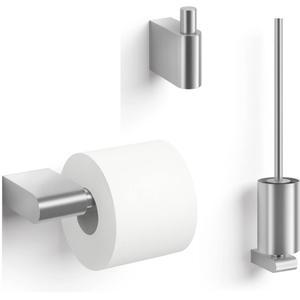ZACK Atore toilet accessoireset 3-in-1 RVS mat