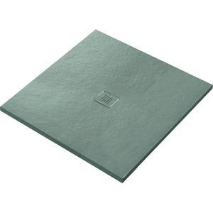 Ben Avira douchevloer Akron 100x100x3cm cemento (cement grijs)