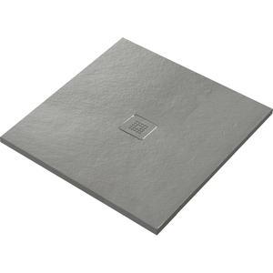 Ben Avira douchevloer Akron 90x90x3cm cemento (cement grijs)