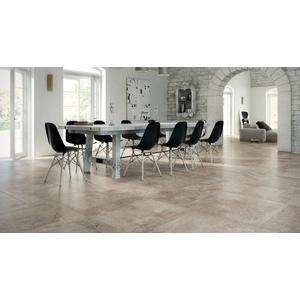 Vloertegel Castelvetro Always 60x60x1 cm Grijs/Beige 1,44M2