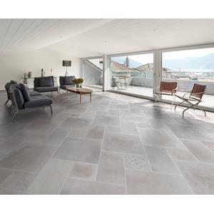 Vloertegel Sintesi Atelier 30x30cm Bianco 1m2