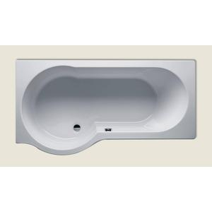 Riho Dorado acryl bad, 180x80x52 zonder pootset, rechts, wit