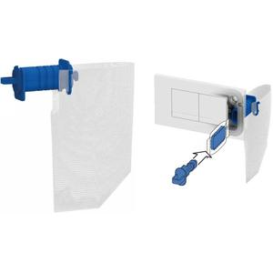 Ben Clean Blue toiletblokhouder inbouwset