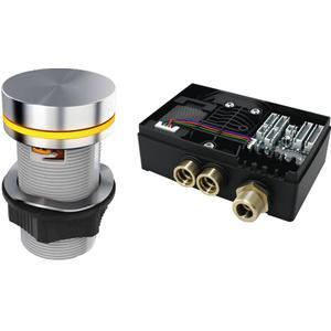 Ben E-Box Elektronische wastafelkraan voor wastafelblad mini Chroom
