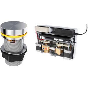 Ben E-Box Elektronische wastafelkraan voor wastafelblad Chroom