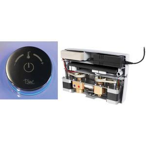 Ben E-Box Elektronische wastafelkraan voor wand Chroom