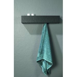 Acquabella Planchet Box Slate 70x11x13 cm Negro