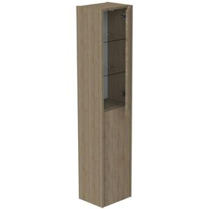 Thebalux Beat 2.0 Hoge Kast 35x27x165 cm Natural Oak