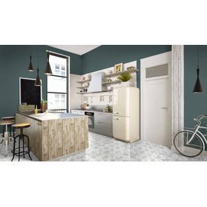 Mozaïek Terratinta Betonstil 31,6x31,6x0,4 cm Hexa Cotton Candy 10ST