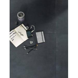 Vloertegel Terratinta Betontech 60x60x1,05 cm Antracite 1,08M2