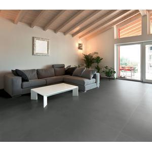 Vloertegel Terratinta Betontech 60x60x1,05 cm Mud 1,08M2