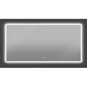 Thebalux Bright LED spiegel met spiegelverwarming 140x60x3,5 cm Alu frame