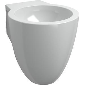 Clou Flush 6 Fontein zonder kraangat 27x31,5x28 cm Wit