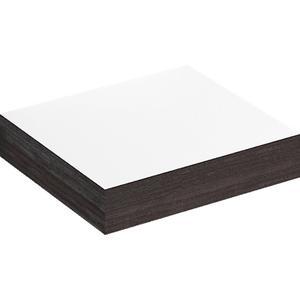 Clou MatchMe Planchet 40x38x8 cm Wit/Zwart Eiken