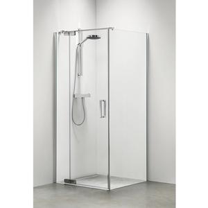 Get Wet by Sealskin Custom Douchecabine met draaideur rechts 90x195cm Zilver hoogglans/Helder glas