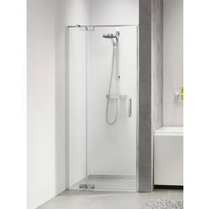 Get Wet by Sealskin Custom Draaideur Rechts 120x195cm Zilver hoogglans/Helder glas